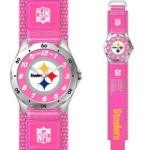 NFL Kids  FF1-PIT Future Star Series Pittsburgh Steelers Pink Watch Review 51aa78694