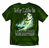 My Life is -Fishing - Youth Large T-Shirt