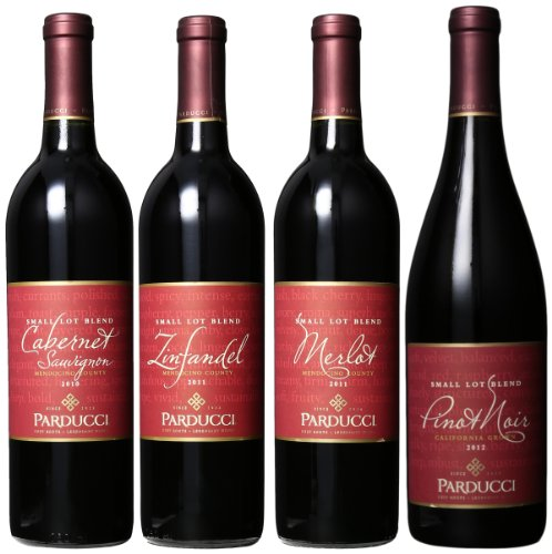 Parducci Mendocino Collection Mixed Pack (1St Edition), 4 X 750 Ml