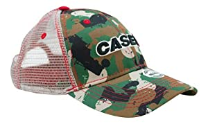 Case IH Youth Tractor Camo Mesh Back Cap - Officially Licensed (Color   Green 3e499298b731