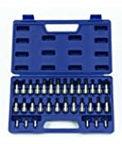 Williams 50681 1/4-Inch and 3/8-Inch Drive Bit Socket Set, 32-Piece