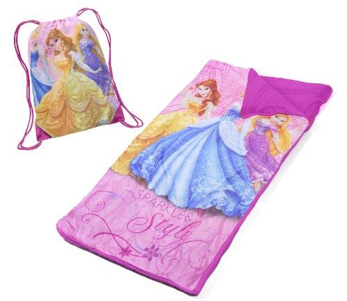 Disney-Princess-Slumber-Bag-Set