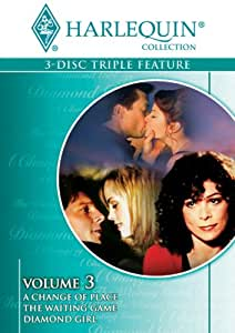 Harlequin Triple Feature, Vol. 3 (A Change of Place / The Waiting Game / Diamond Girl)