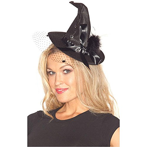 Fancy Mini Witch Hat - One Size
