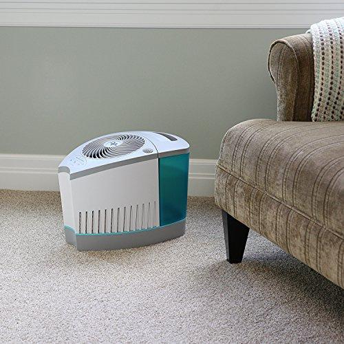 Vornado evap3 whole room evaporative humidifier white for Living room humidifier