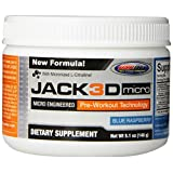 USP Labs Jack 3D Advanced Formula Nutritional Supplements, Blue Raspberry, 146 Gram