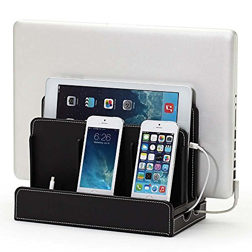 G.U.S. Nefarious Leatherette Multi-Device Charging Station and Dock