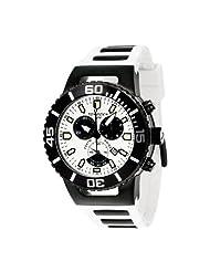 Torgoen Swiss Men's T24304 T24 White 20 ATM Chronograph Dive Watch