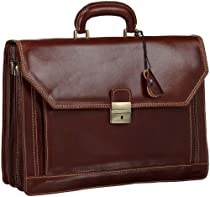 Floto Luggage Venezia Briefcase, Brown, One Size