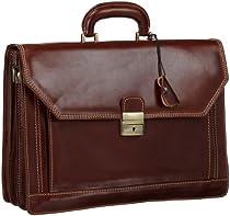 Floto Luggage Venezia Briefcase, Brown, One Size