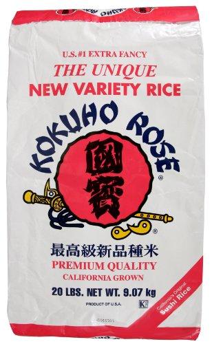 Kokuho Rose Premium Rice, 20-Pound