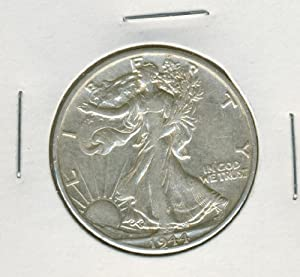 "1944-D U.S. Walking Liberty ""Silver"" Half Dollar"