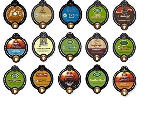 30 Count VUE Cups ALL COFFEE Variety Sampler Pack *NO DECAF 14 Different Flavors!