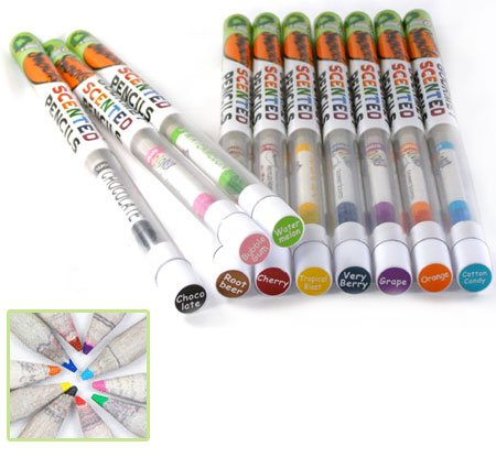 Individual Colored Smencil - Various Scents - Single Scented Colored Pencil Picked at Random for You - 1