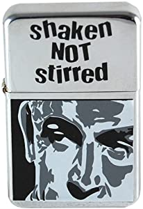 James Bond lighter. 007 Shaken Not Stirred Lighter