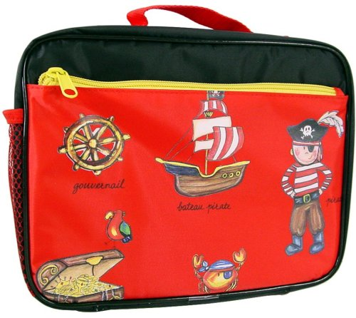 Baby Cie Soft Sided Zippered lunch box Pirates theme - Buy Baby Cie Soft Sided Zippered lunch box Pirates theme - Purchase Baby Cie Soft Sided Zippered lunch box Pirates theme (Baby Cie, Home & Garden, Categories, Kitchen & Dining, Tableware)