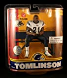 McFarlane Toys NFL Sports Picks Series 16 Action Figure LaDainian Tomlinson (San Diego Chargers) Blue Jersey Variant