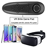 IVSO-VR-Remote-Control-Bluetooth-Gamepad-Remote-Controller-for-Samsung-Gear-VR-Phones-Tablets-PC-Easy-control-for-Selfie-Video-Music-Mouse-Ebook-Game-and-VR-10M-Serviceable-Range-Black