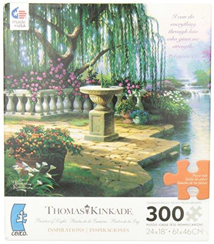 Thomas Kinkade The Hour of Prayer Jigsaw Puzzle - 1
