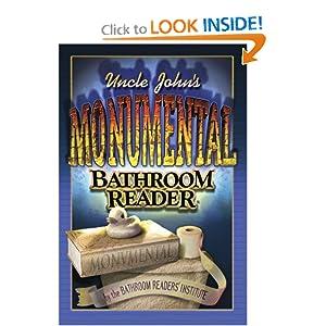 Uncle John's Monumental Bathroom Reader (Uncle John's Bathroom Readers) e-book downloads