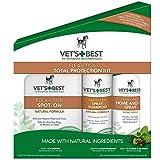 Veterinarian's Best Flea + Tick 3-Piece Total Protection Kit