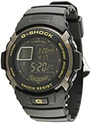 Casio G-Shock Digital Black Dial Mens Watch - G-7710-1DR (G223)