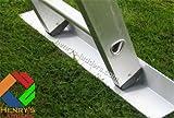 Henry's Footee Anti-Slip Ladder Stopper - Ladder Stabiliser - Single Strip. Use on Garden Decking or Soft Ground/Grass. Ladder Safety on Slippery Surfaces.