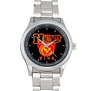 Halloween Time! Classic FILGO183 Stainless Steel Wrist Watches