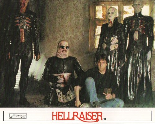 Hellraiser - Clive Barker - Movie Poster Lobby Card - 8 x 10