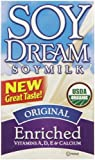 Soy Dream Organic Soymilk, Enriched Original, 32 Ounce (Pack of 12)