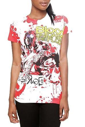 Blood On The Dance Floor Allover Splatter Girls T-Shirt Size : Small