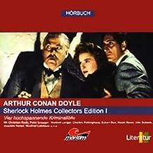 Sherlock Holmes Collectors Edition I Hörspiel von Arthur Conan Doyle Gesprochen von: Christian Rode, Peter Groeger, Norbert Langer