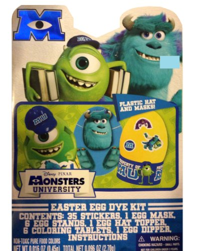 Disney Monsters University Easter Egg Decorating Kit by Paper Magic