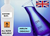 1000ml 1L Acetone 99.9% Pure Solvent Nail Varnish Remover best