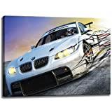 BMW M3 Power Motive on canvas Size: 31.5