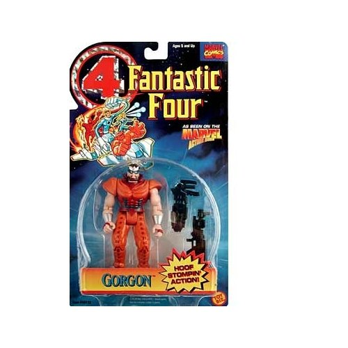 Fantastic Four Gorgon Action Figure - 1