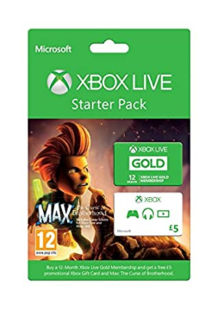 Xbox Live Starter Pack (Xbox One/Xbox 360)