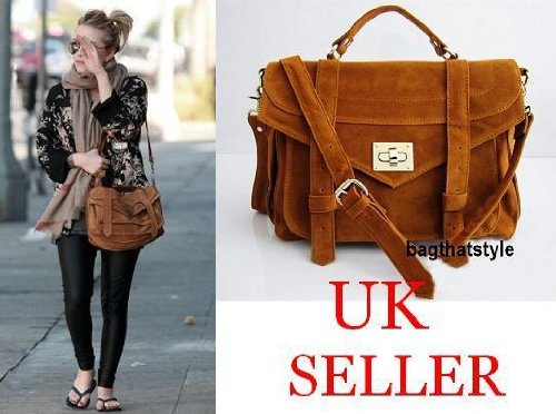 Gossip Girl Vintage X body Satchel Messenger Bag
