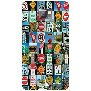 Samsung I9100 Galaxy S2 Phone Cover - Signs Phone Cover