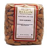 Bergin Nut Company Almonds, Raw Almonds, 16 Ounce Bag