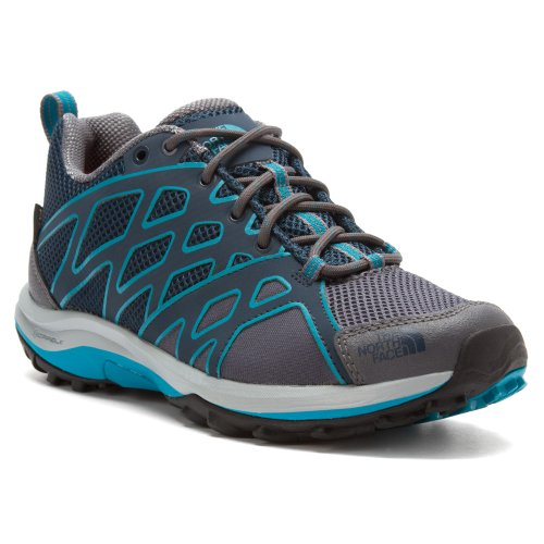 The North Face Hedgehog Guide GTX Hiking Shoe - Women's Kodiak Blue/Flamenco Blue, 7.5