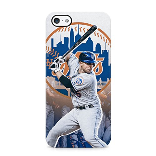 NY Mets David Wright Swing Hard Plastic Phone Case Cover Shell For iPhone 5 , iPhone 5s & iPhone SE (Iphone 5 Clayton Kershaw Case compare prices)