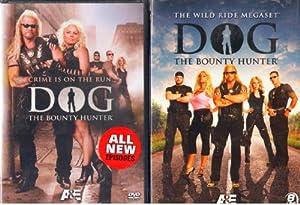Dog the Bounty Hunter 8 Disc Wild Ride Mega Set , with Bonus Disc Crime Is on the Run : 9 Discs Total