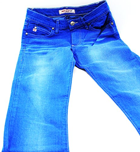 Miss Sixty Low Ford Trousers/Tommy Jeans ragazza/donna pantaloni taglia: 27/Royal Blue