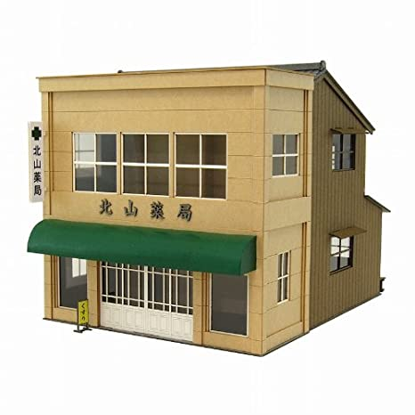 [Miniatuart] Visual Scene Series : Street Shop - 8 (Unassembled Kit) (Model Train)