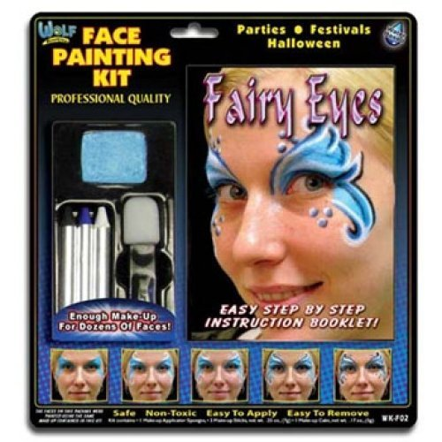 Fairy Face Painting Kits from Wolfe (3 Colors) - 1
