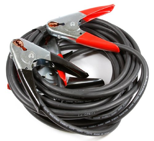 Forney 52875 Battery Jumper Cables, Heavy Duty Number 2, 12-Feet
