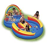 Intex Rainbow Ring Inflatable Play Center, 117