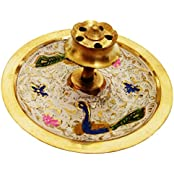 Mehrunnisa Brass Incense Stick Agarbatti Holder Mughal Design (MEH1229)