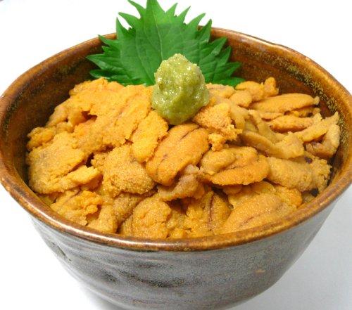 生食 業務用 お寿司屋さん仕様の ムラサキウニ 大きさ無選別 [訳あり]